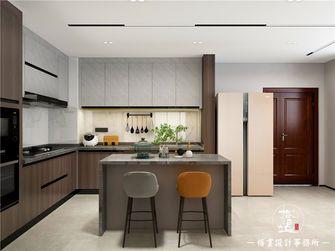 5-10万110平米三室两厅现代简约风格厨房设计图