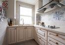 10-15万140平米三室两厅田园风格厨房图片大全