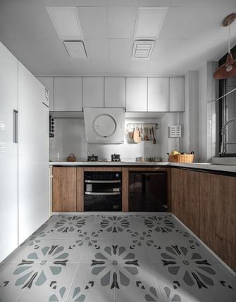 110平米四室一厅北欧风格厨房设计图