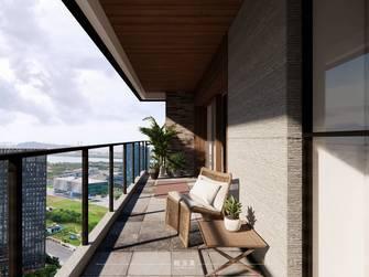 20万以上140平米四现代简约风格阳台装修图片大全
