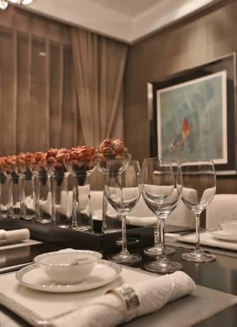 富裕型140平米四室两厅中式风格餐厅图片