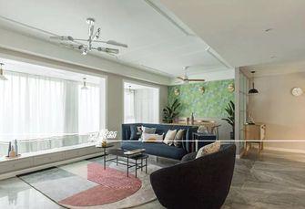 10-15万140平米四室两厅北欧风格客厅图