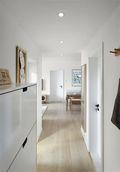 经济型100平米三室两厅日式风格走廊图