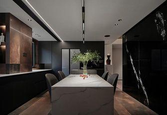 富裕型140平米三室两厅混搭风格餐厅图片