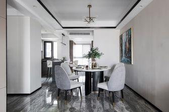 富裕型140平米三室一厅轻奢风格餐厅欣赏图