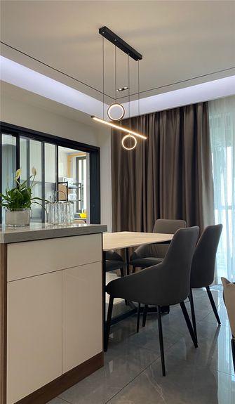 富裕型120平米四室四厅轻奢风格餐厅效果图