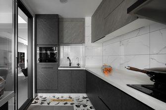 3-5万130平米三室三厅现代简约风格厨房图