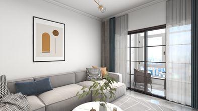 10-15万120平米三室两厅现代简约风格阳台图片大全