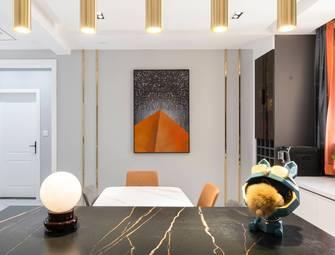 10-15万120平米三室一厅轻奢风格餐厅图