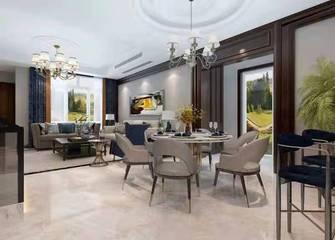 3万以下140平米别墅混搭风格餐厅装修效果图
