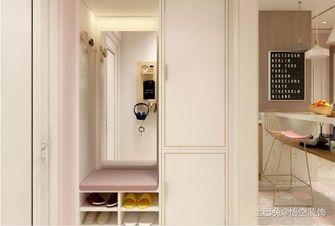 豪华型80平米一居室现代简约风格玄关设计图