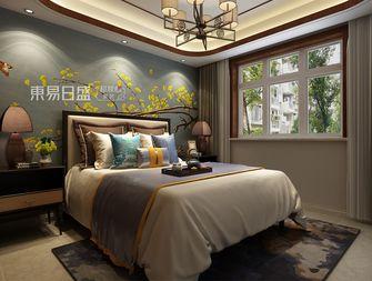 140平米三室两厅中式风格青少年房设计图