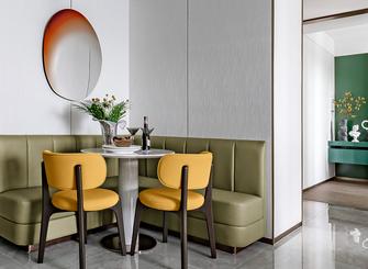 110平米三室一厅轻奢风格餐厅设计图