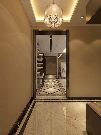 120平米三室两厅港式风格玄关装修图片大全