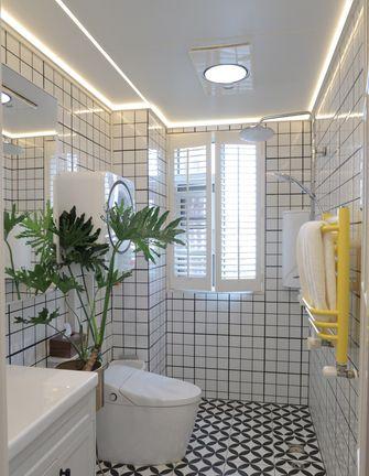 经济型100平米三室两厅轻奢风格卫生间欣赏图