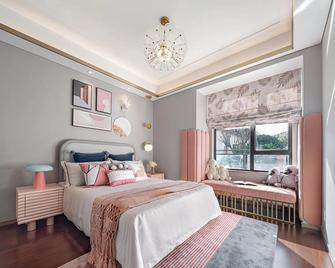 富裕型140平米四中式风格青少年房欣赏图