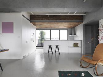 富裕型90平米三室两厅现代简约风格厨房设计图