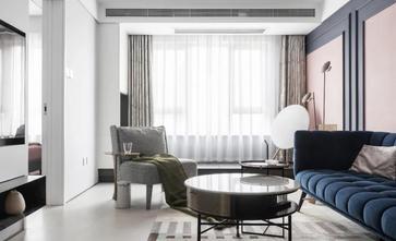 富裕型90平米三新古典风格客厅图片大全