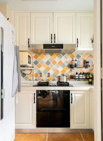 5-10万70平米三室一厅美式风格厨房设计图
