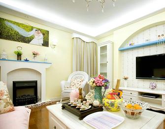 经济型40平米小户型地中海风格客厅设计图