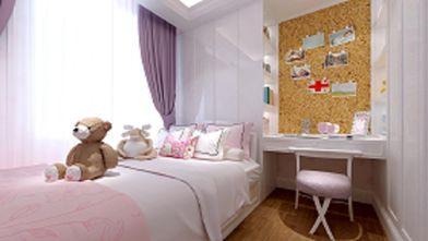 富裕型130平米三室两厅欧式风格青少年房欣赏图