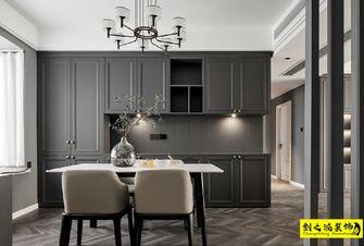 富裕型140平米三室两厅美式风格餐厅图