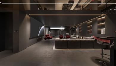 20万以上140平米别墅混搭风格客厅装修图片大全