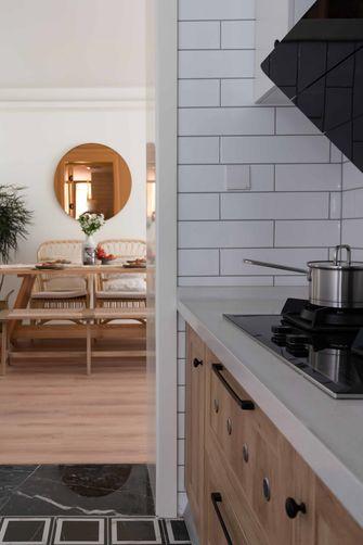 20万以上120平米三室两厅现代简约风格厨房欣赏图