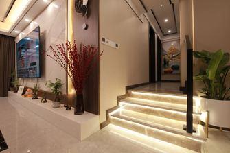 20万以上110平米三室两厅混搭风格楼梯间装修图片大全