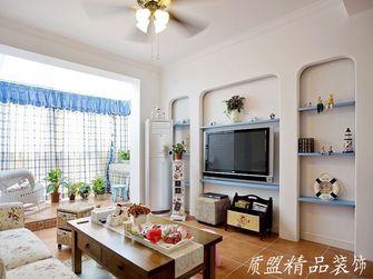富裕型130平米复式地中海风格客厅效果图