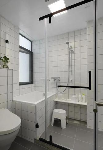 5-10万90平米北欧风格卫生间装修案例