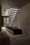豪华型140平米别墅混搭风格楼梯间装修案例