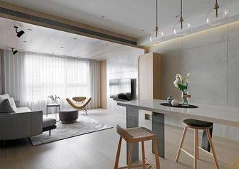 富裕型100平米三室两厅日式风格客厅图片
