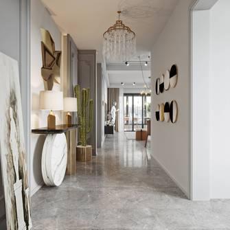 5-10万110平米三室两厅法式风格玄关装修图片大全
