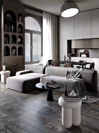 豪华型140平米四室一厅混搭风格客厅欣赏图