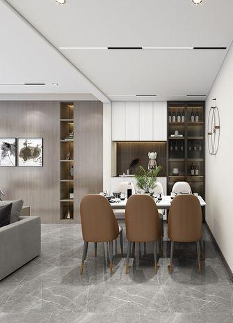 经济型100平米三室两厅现代简约风格餐厅设计图