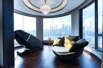 140平米四室三厅港式风格阳光房效果图