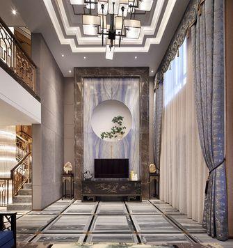20万以上140平米别墅中式风格玄关图