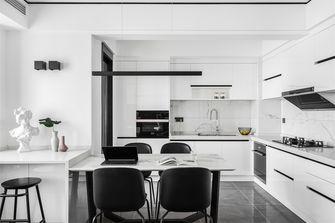 20万以上100平米现代简约风格厨房欣赏图