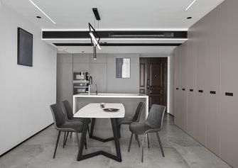 10-15万90平米三室三厅现代简约风格餐厅欣赏图
