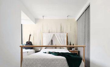 经济型70平米北欧风格卧室设计图