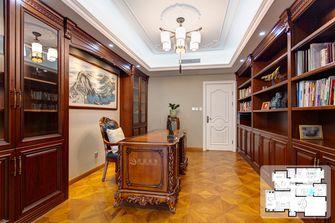 15-20万140平米复式欧式风格书房设计图