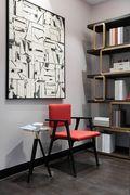 10-15万130平米三室一厅新古典风格书房欣赏图
