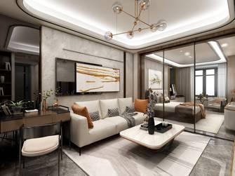 10-15万80平米轻奢风格客厅装修案例
