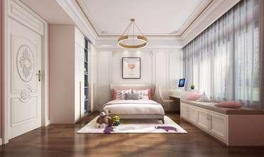 经济型110平米三室两厅法式风格卧室效果图