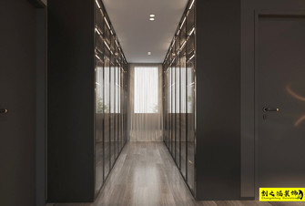 富裕型140平米三室两厅现代简约风格衣帽间装修图片大全