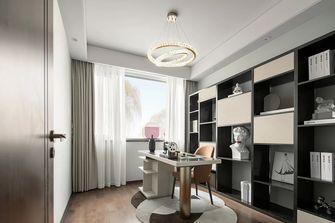 5-10万140平米三室两厅轻奢风格书房装修图片大全