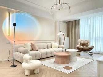 110平米三法式风格客厅效果图