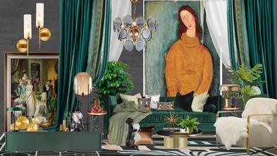 富裕型三室一厅混搭风格其他区域装修图片大全