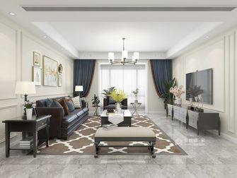 豪华型140平米四美式风格客厅效果图